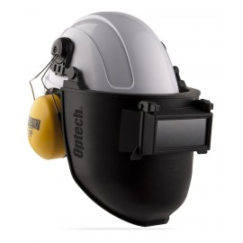 Pantalla de soldar tono 11 adaptable a casco. SteelPro Safety
